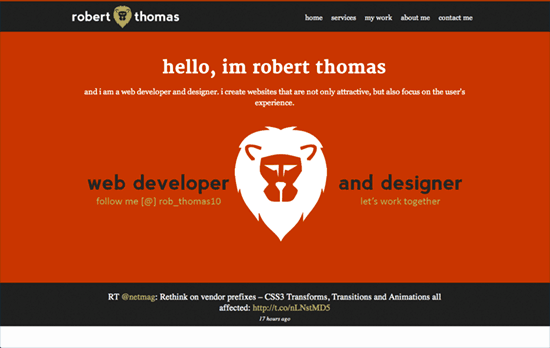 Robert Thomas' website