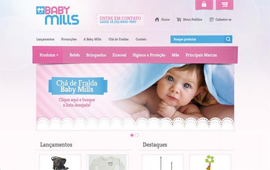 Baby Mills website