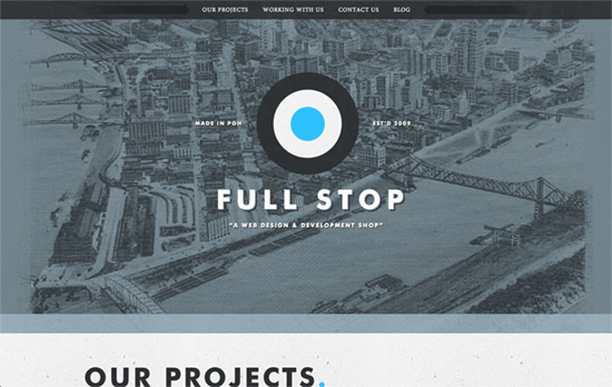 Full Stop Interactive website