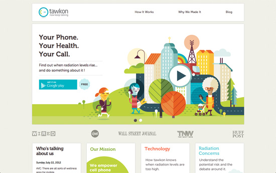 Tawkon website