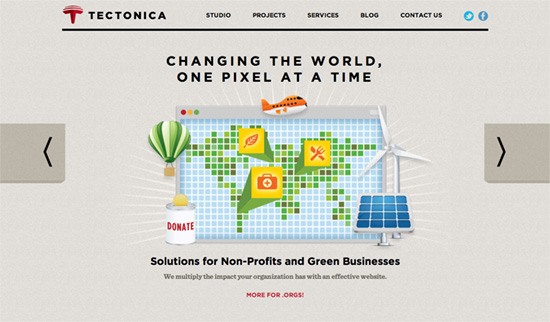 Tectonica website