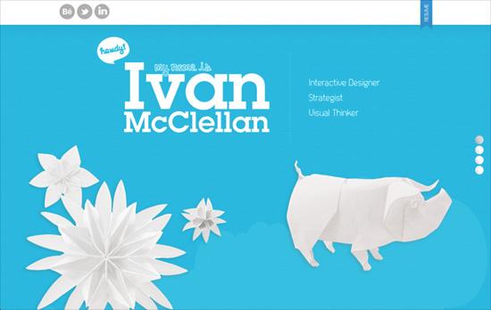 Ivan McClellan's website
