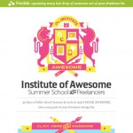 Summer School for Freelancers : The Institute of Awesome website
