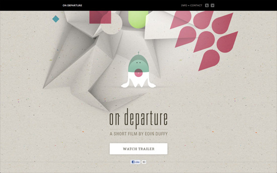 On Departure website