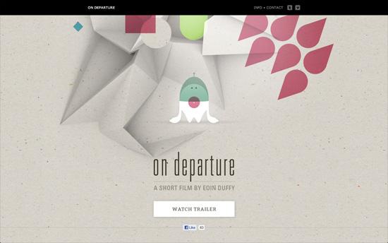 On Departure website