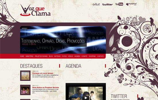Voz que Clama website