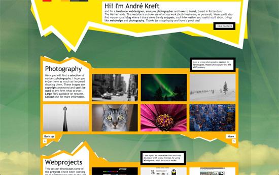 Andre Kreft's website