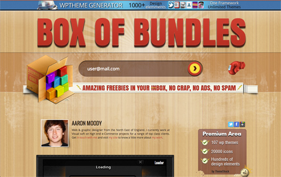 Box of Bundles website