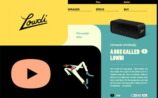 Lowdi website