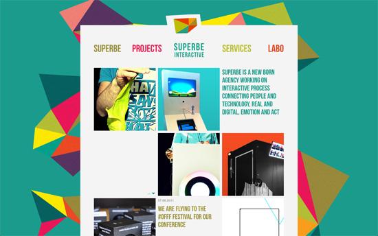Superbe Interactive website
