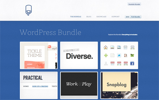 WordPress Themes Bundle website