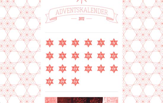 upstruct Adventskalender 2012