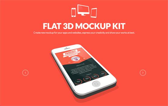 Flat + 3D Mockup Kit