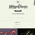 Lettering versus Calligraphy