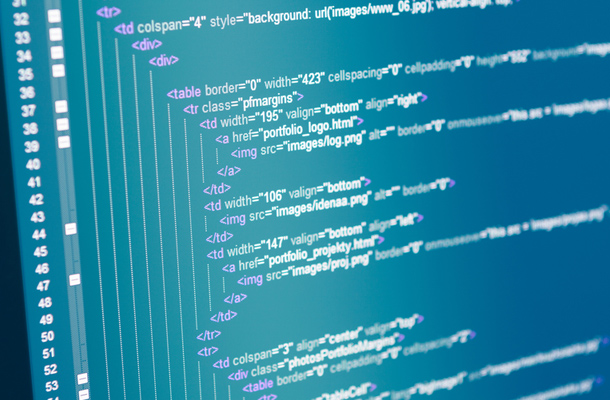 web designer coding html frontend ide syntax