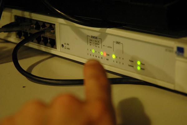 juniper ssg5 internet traffic modem