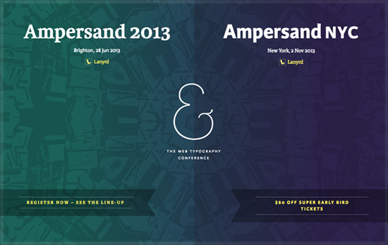 Ampersand Conference 2013