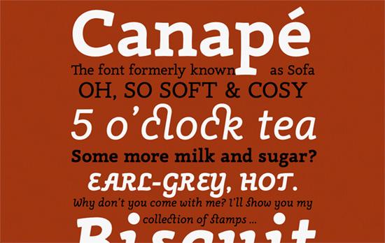 Canapé Font Micro Site