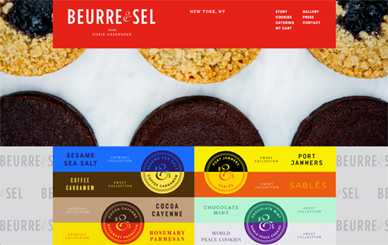 Beurre & Sel. Gourmet cookies from Dorie Greenspan