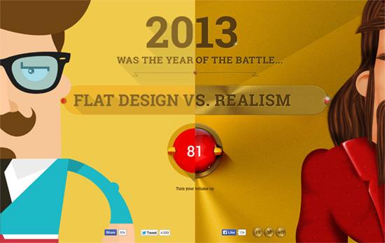 Flat Design VS Realism