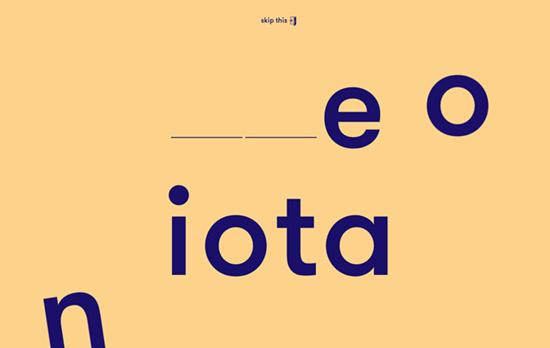 One Iota