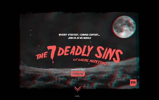 The 7 Deadly Sins of Digital Marketing