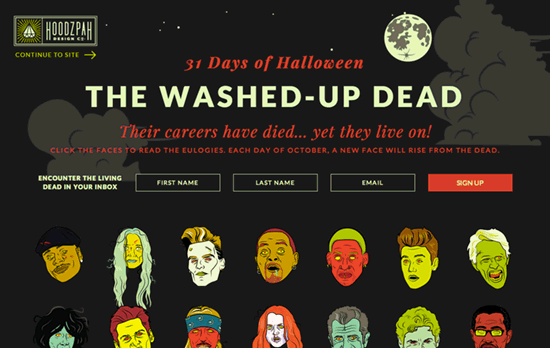 The Washed Up Dead