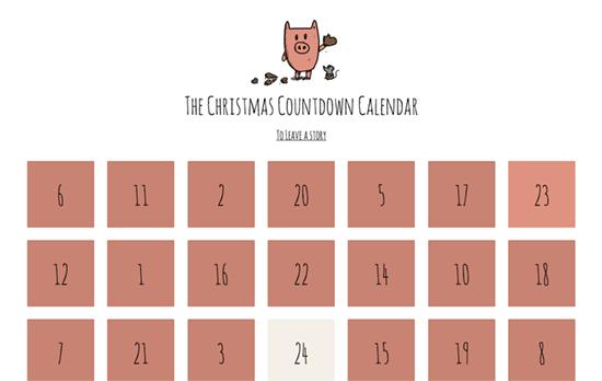 The Christmas Countdown Calendar