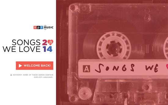 Songs We Love 2014