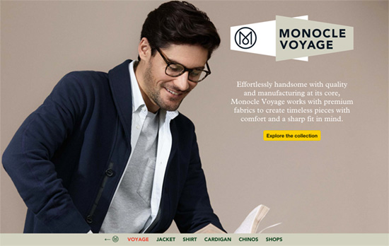 Monocle Voyage