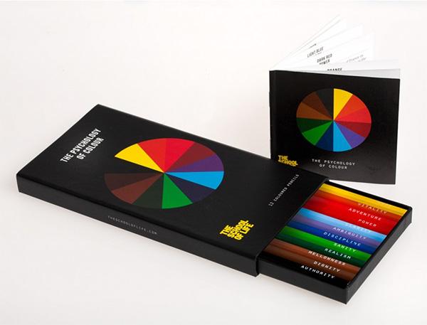 Psychology of Colour Pencil Set