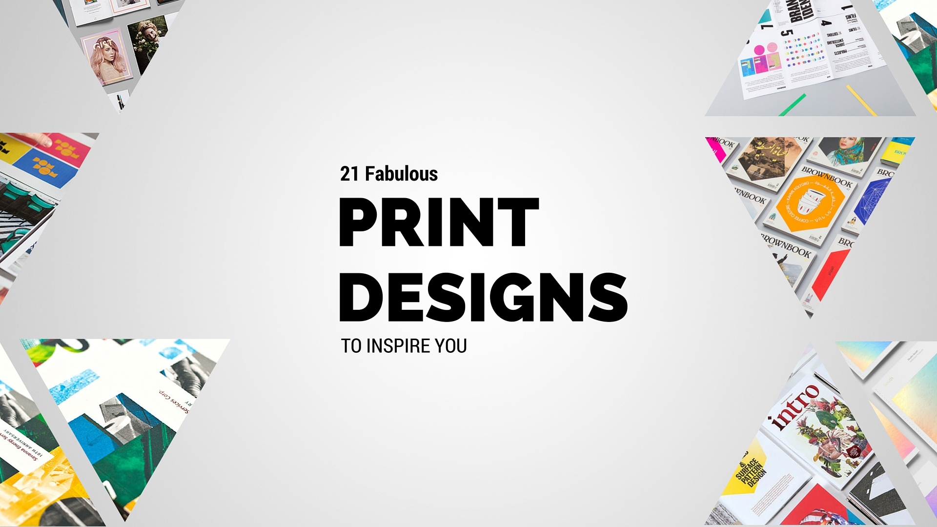 Top Print Design Inspiration Projects To Inspire You This Week