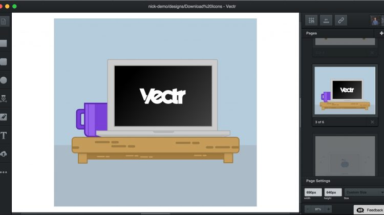 Vectr: a free graphics editor on your desktop and in the browser